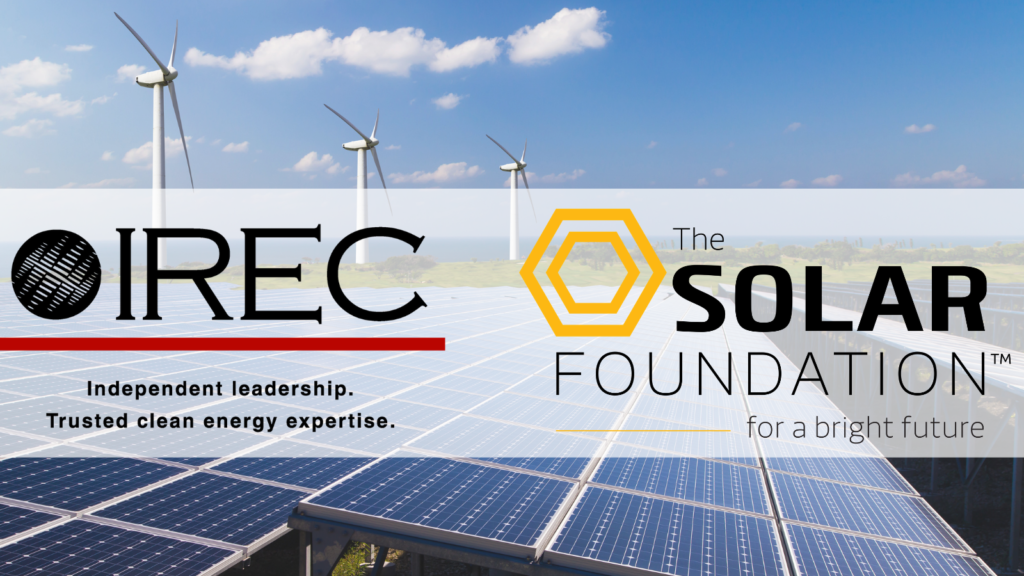 IREC and The Solar Foundation Announce Merger