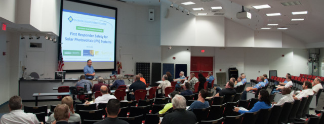 Solar PV Training for Florida's First Responders