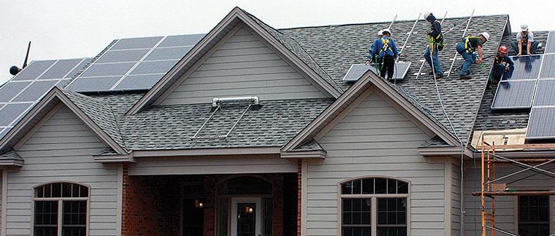 Alfred State College zero energy home