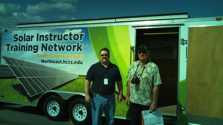 California/Hawaii solar trailer appears at 2013 Solar Decathlon