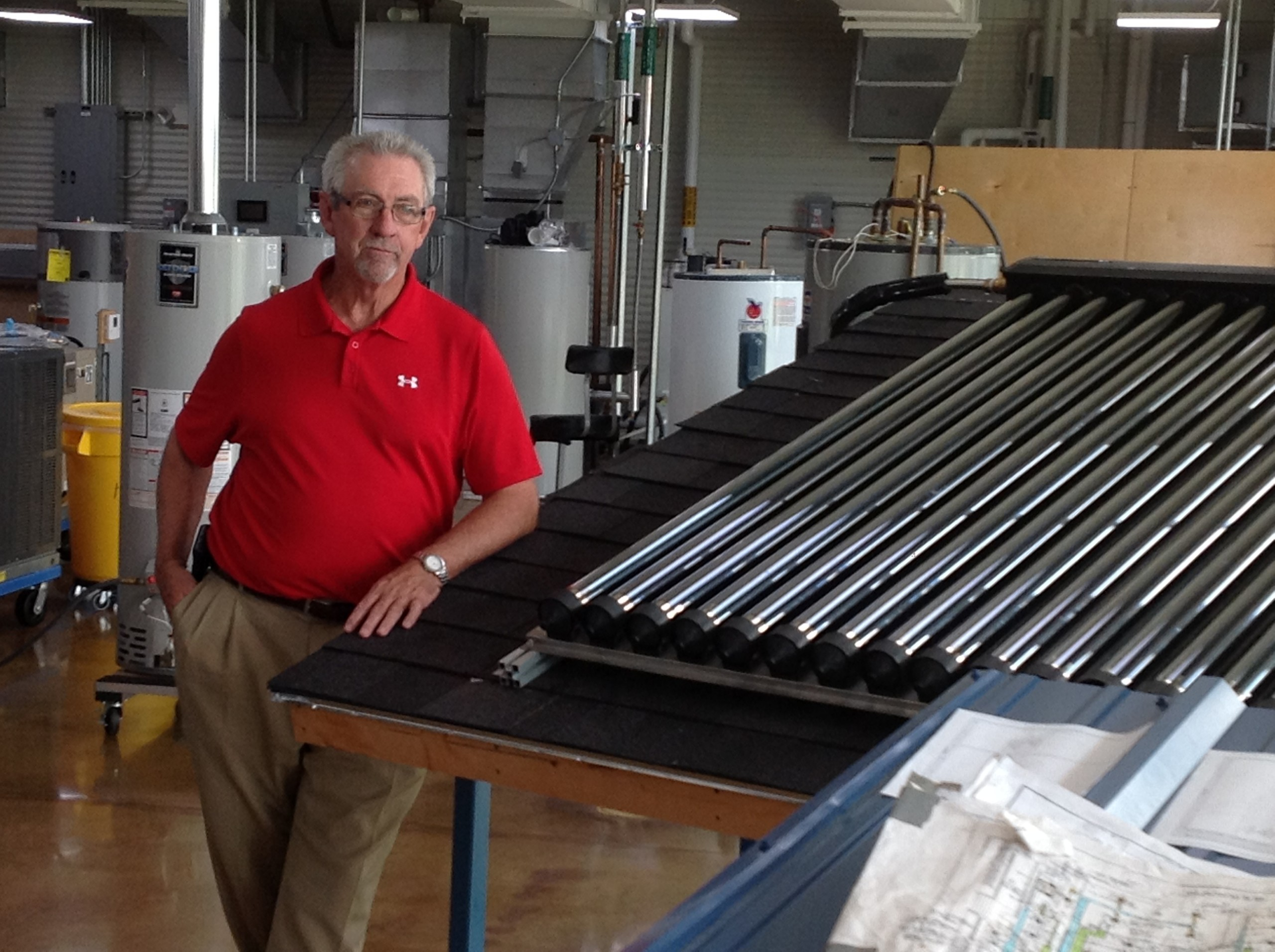 Calhoun Energy Technolgoy Center's Danny Wallace