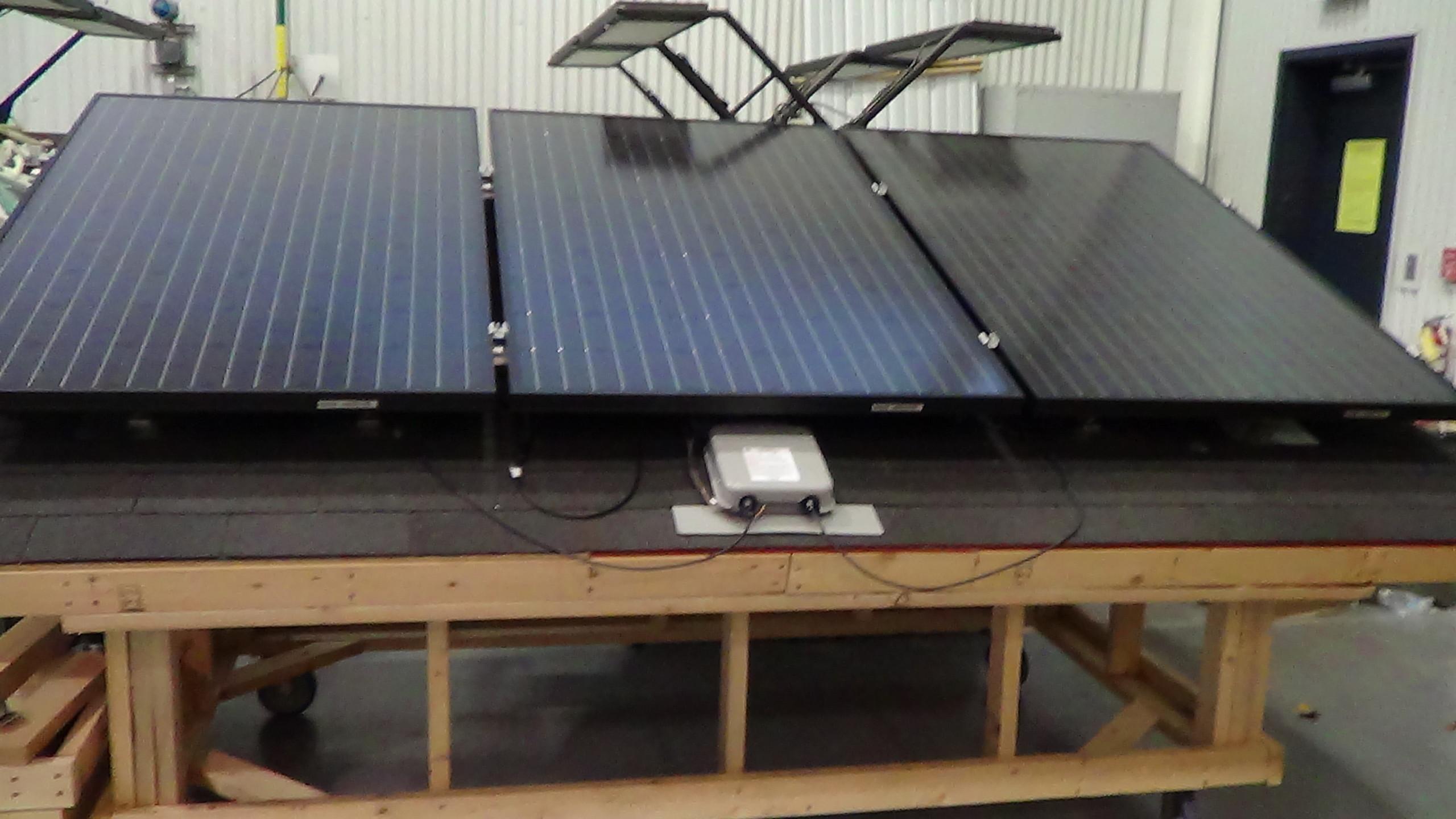 CCC mock PV roof