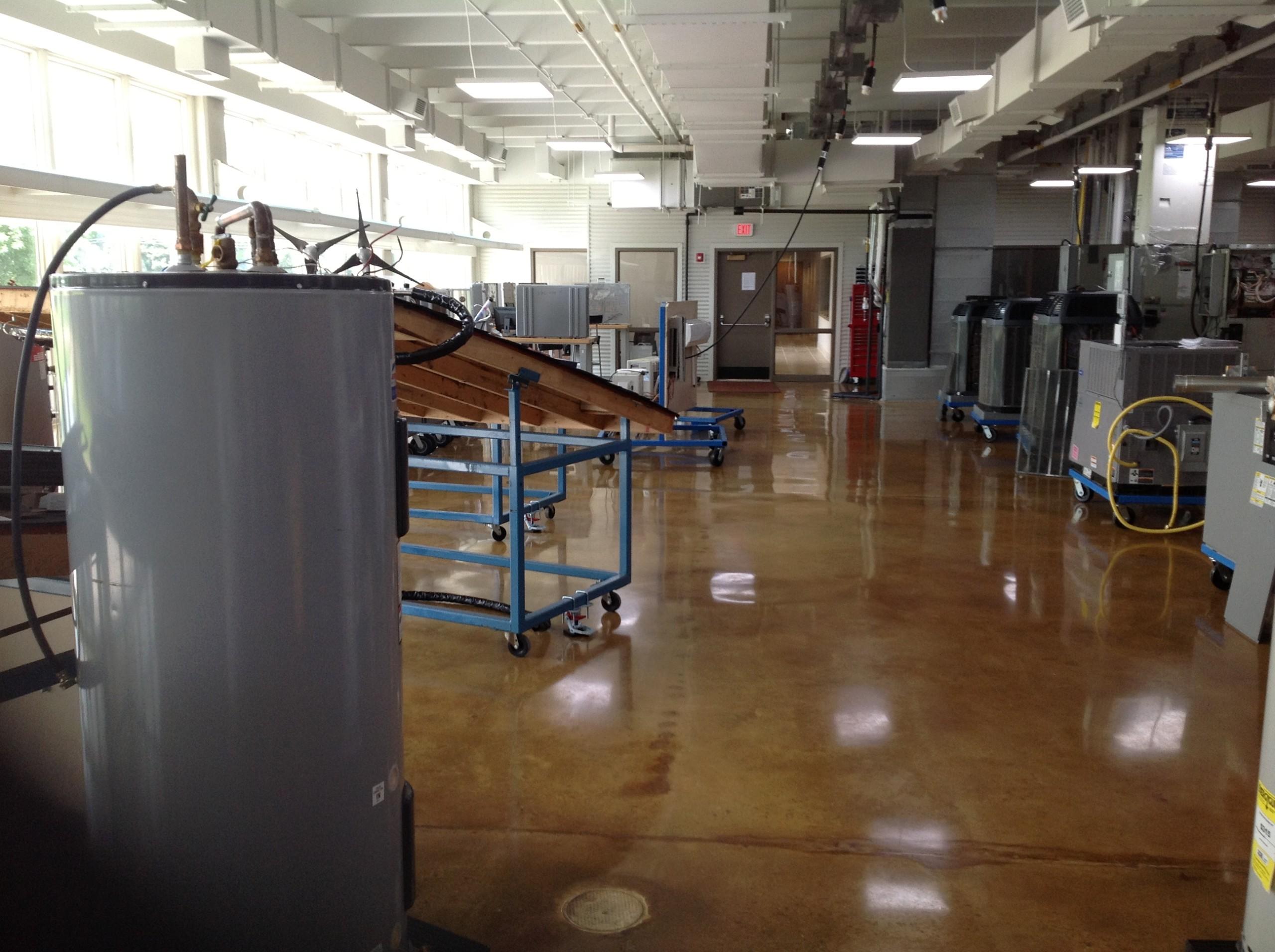 Calhoun Energy Technology Center Solar Lab