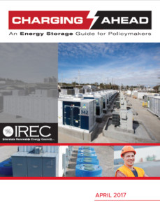 Charging Ahead: Energy Storage Guide for Policymakers report