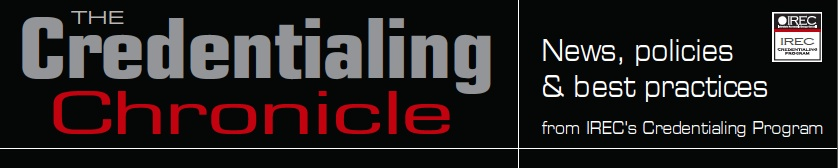 The Credentialing Chronicle banner logo