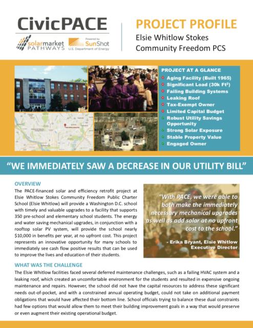Elsie Whitlow Public Charter School Project