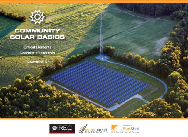 The ABCs of Community Solar Basics