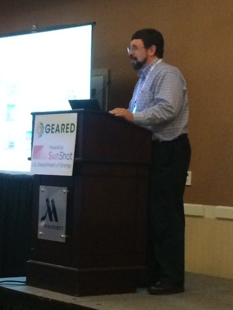 SMUD's Dave Brown shares two case studies for the GEARED conference