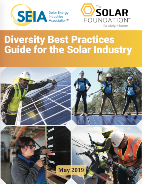 Diversity Best Practices Guide for the Solar Industry