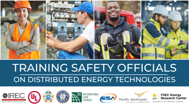 New Project Will Provide Training on Distributed Energy Technologies for Building, Safety Officials