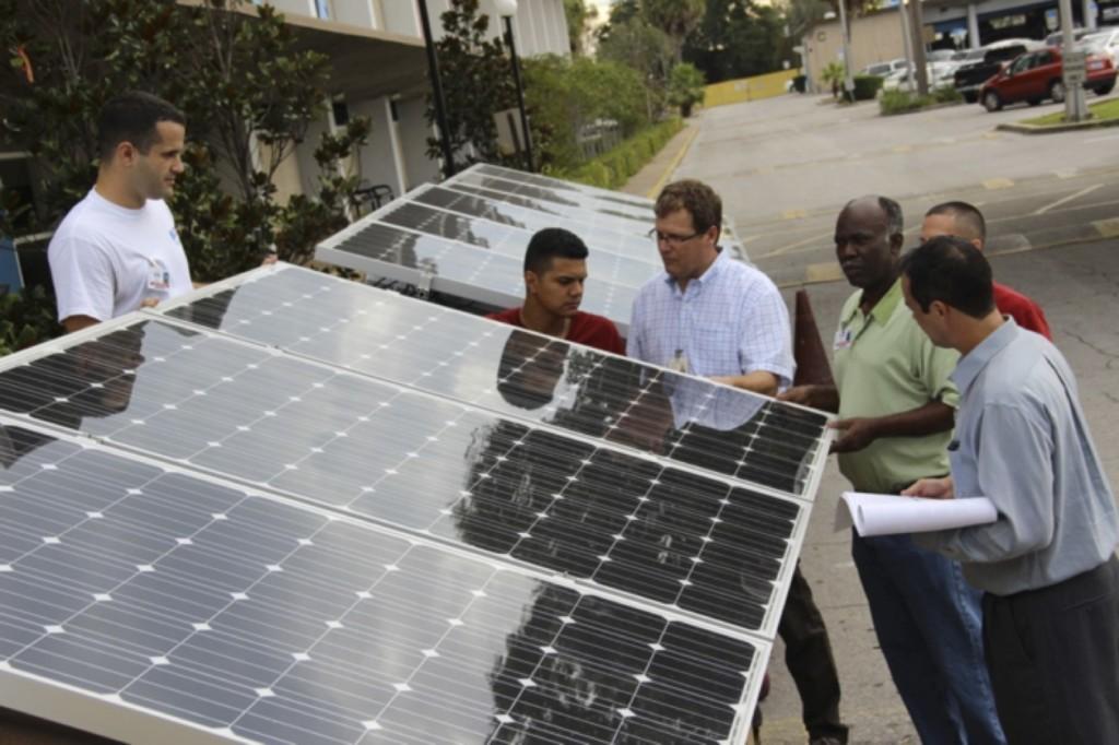 Erwin Technical Center solar PV training