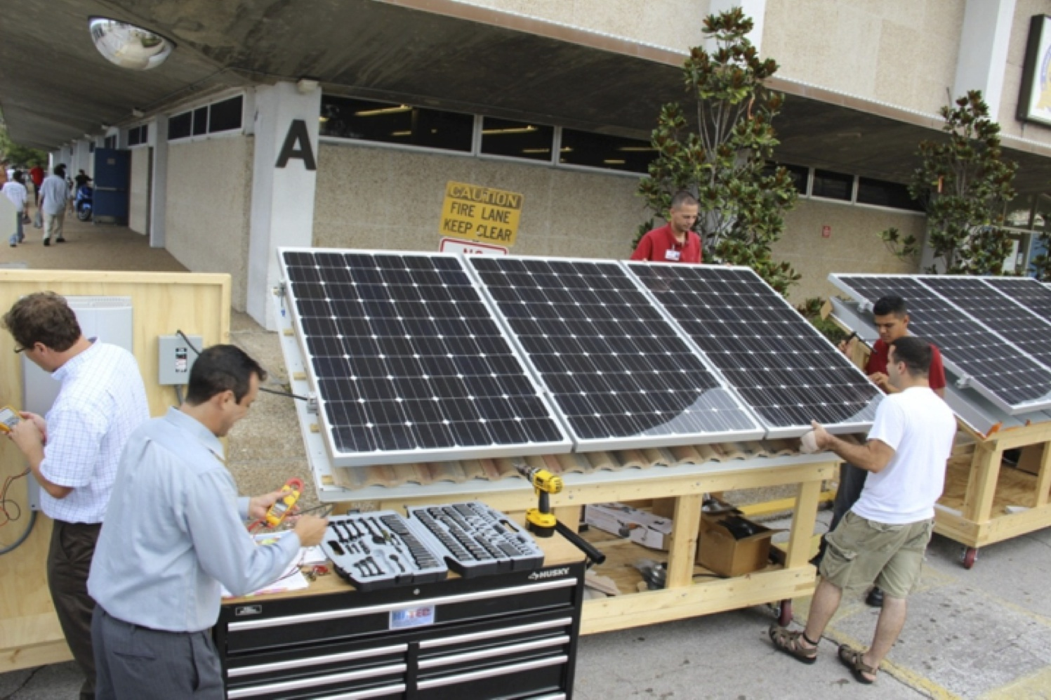 Erwin Technical Center Solar PV training program