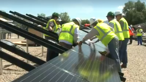 Switch Turned On for Colorado's First Shared Solar Project for Low-Income Customers