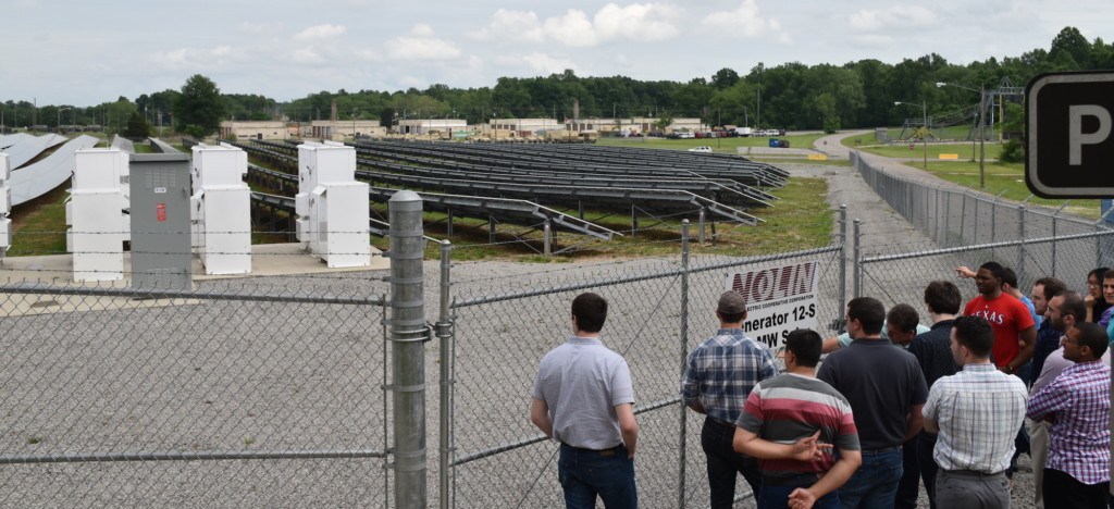 Group at Ft. Knox solar farm2_small