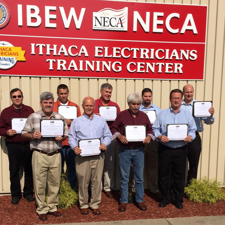 IBEW credentialees_091414