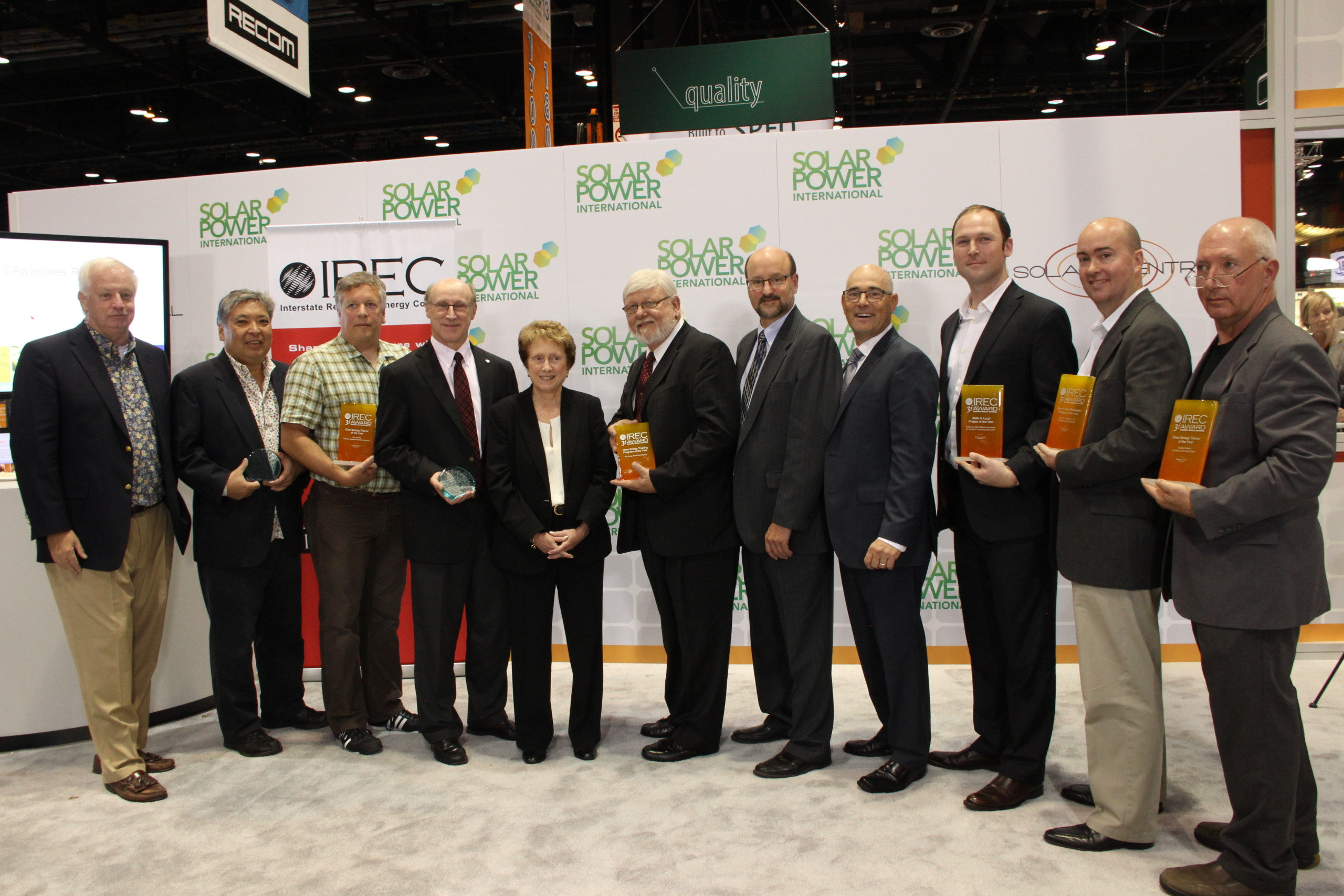 2013 IREC 3iAward Winners