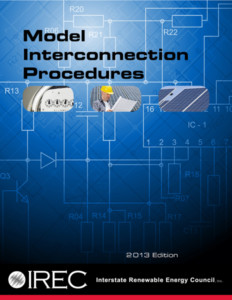IREC Interconnection 2013 cover_small