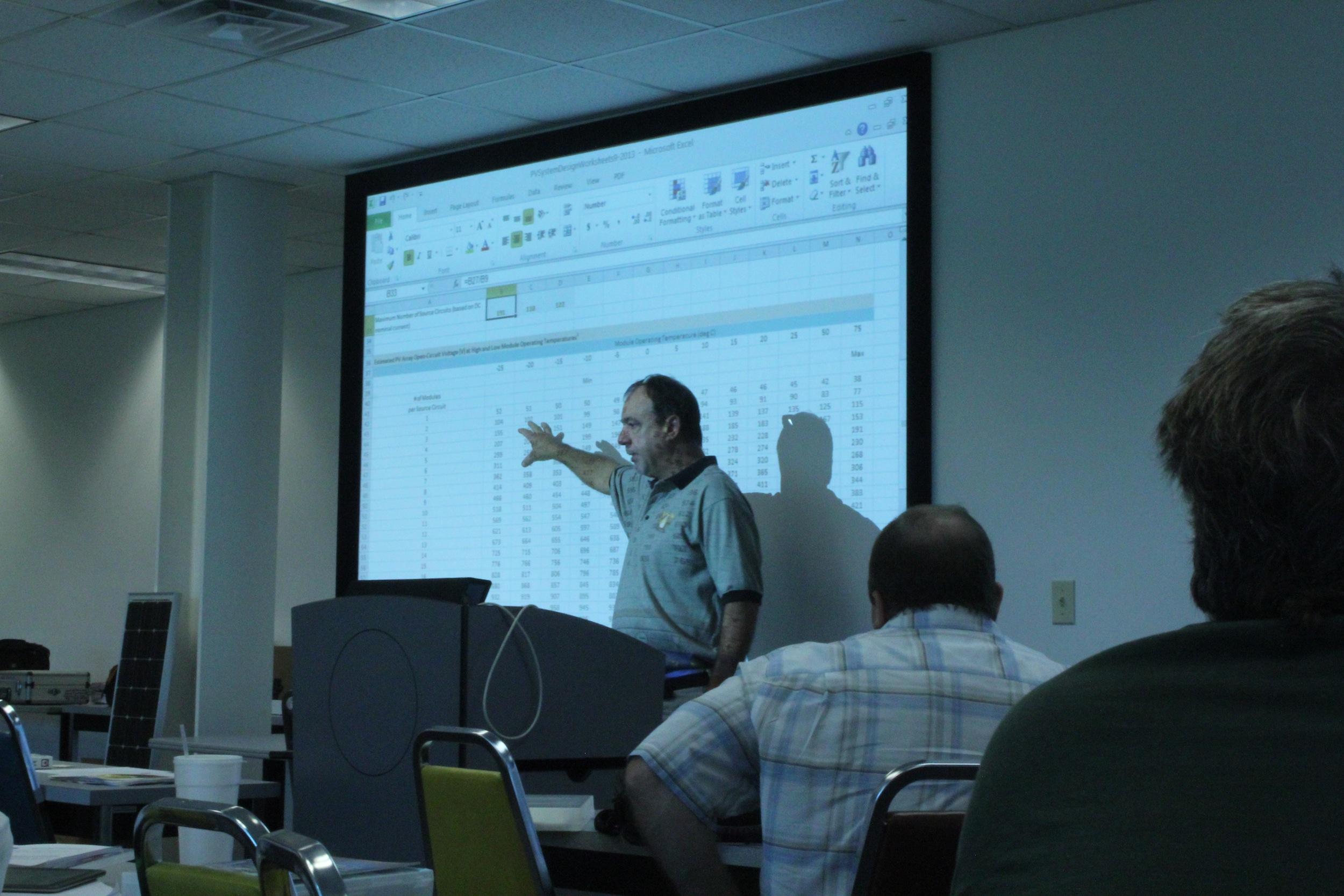 Jim Dunlop at SSTN workshop