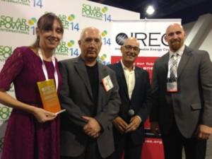 L to R: Jennifer Martin, Tim Wilhelm, David Warner, Dr. Michael Boyd