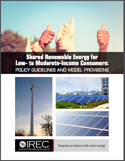Bringing Shared Renewables to Low-Moderate- Income Consumers