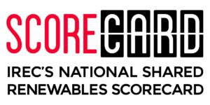 IREC National Shared Renewables Scorecard logo