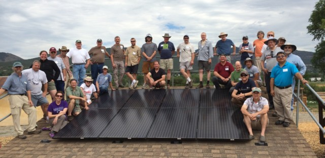 SITN Schools Leverage National Science Foundation Grant  for Additional Solar Training