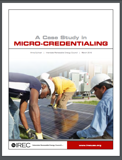 Promising New Pathway: Case Study in Micro-Credentials