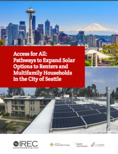 Access for All: Pathways to Expand Solar Options to Renters and Multifamily Households in the CIty of Seattle