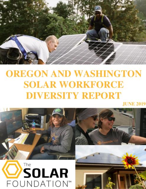 Oregon and Washington Solar Workforce Diversity Report