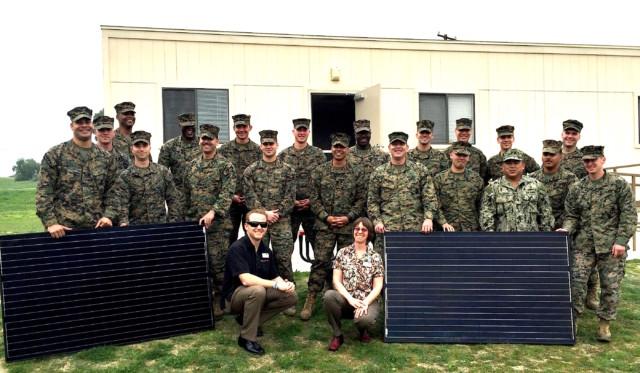 U.S. Marines Set Sights on Solar Training for Vets