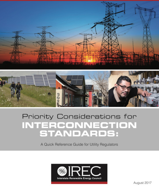 New Guide for Utility Regulators: Priority Considerations for Interconnection Standards