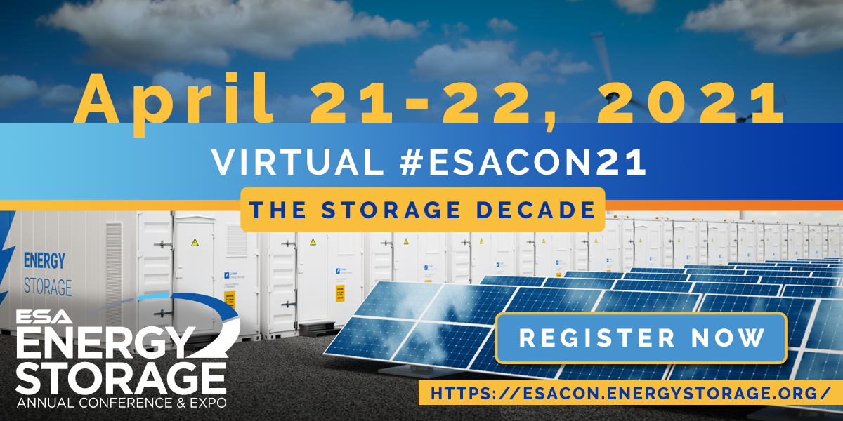 The U.S. Energy Storage Association Annual Conference & Expo