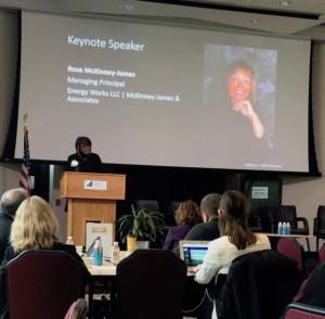Rose McKinney-James keynote