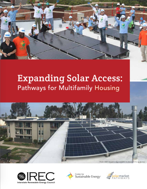 Expanding Solar Access: Pathways for Multifamily Housing