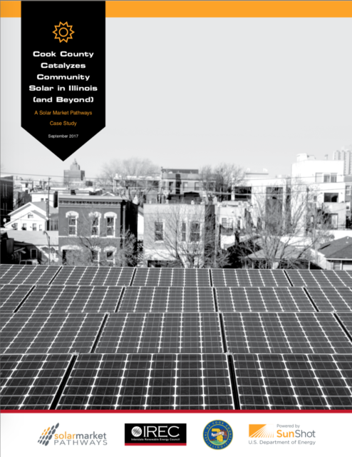 Cook County Catalyzes Community Solar in Illinois (and Beyond)
