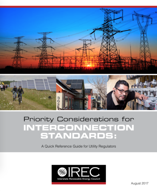 Priority Considerations for Interconnection Standards