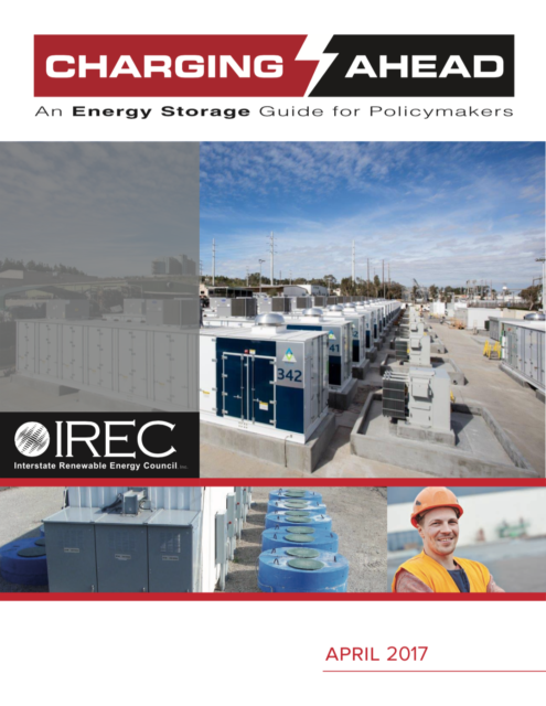 Charging Ahead: Energy Storage Guide for Policymakers