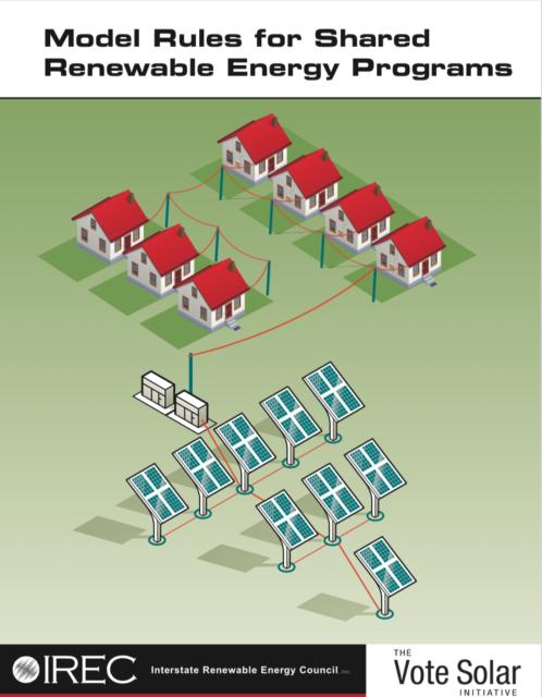 Model Rules for Shared Renewable Energy Programs