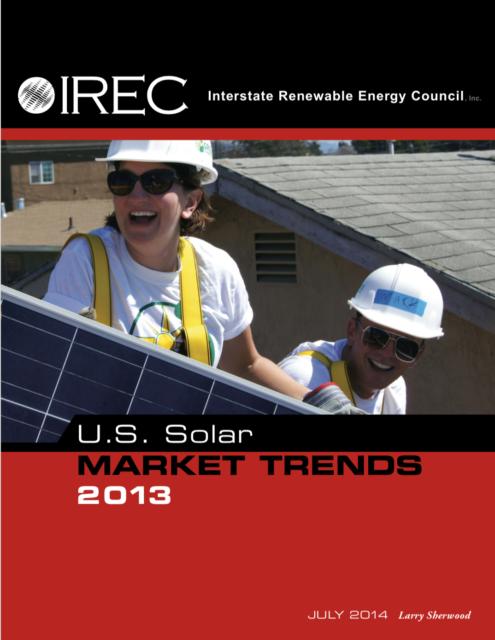 Annual U.S. Solar Market Trends Report