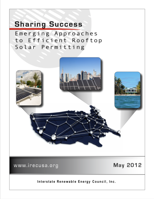 Sharing Success: Emerging Approaches to Efficient Rooftop Solar Permitting