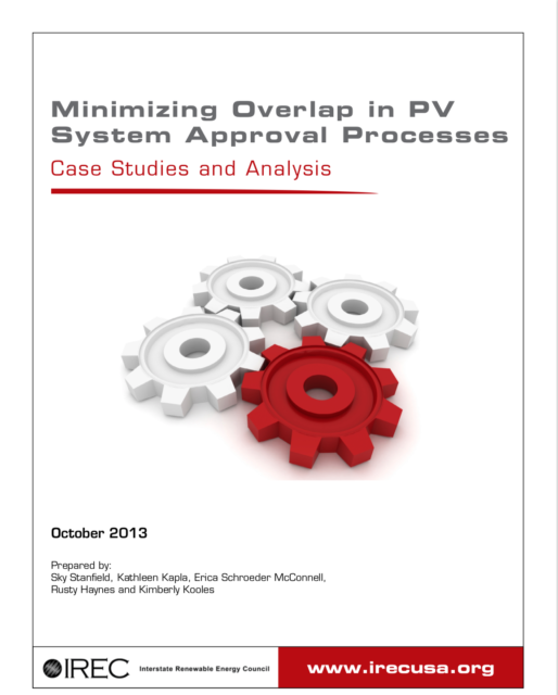 Minimizing Overlap in PV System Approval Processes: Case Studies & Analysis