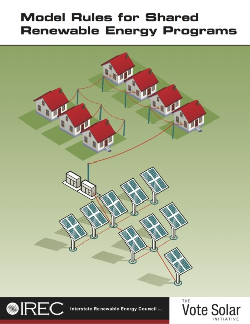 IREC Releases Revised Model Rules for Shared Renewable Energy Programs