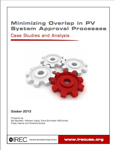 Minimizing Overlap in PV Rooftop System Approval Processes