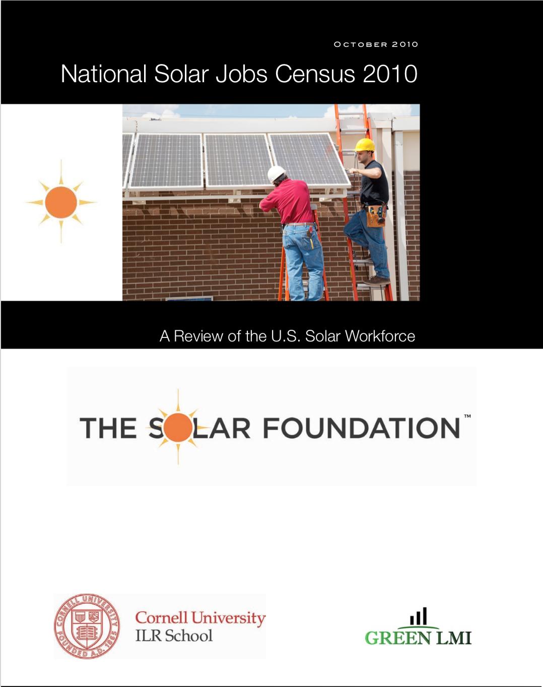 National Solar Jobs Census 2010