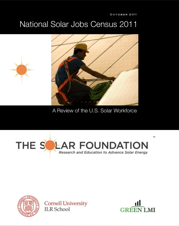 National Solar Jobs Census 2011