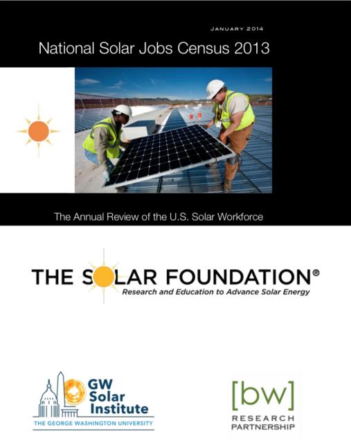 National Solar Jobs Census 2013