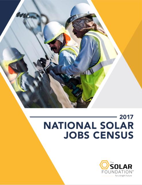 National Solar Jobs Census 2017