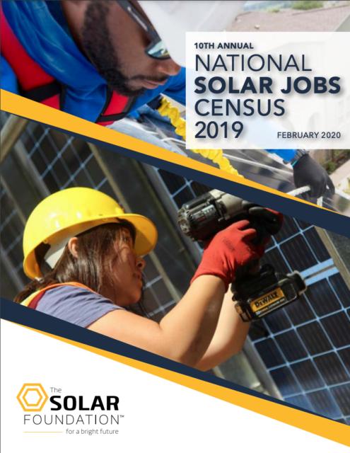 National Solar Jobs Census 2019