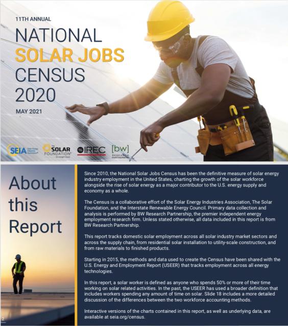 National Solar Jobs Census 2020