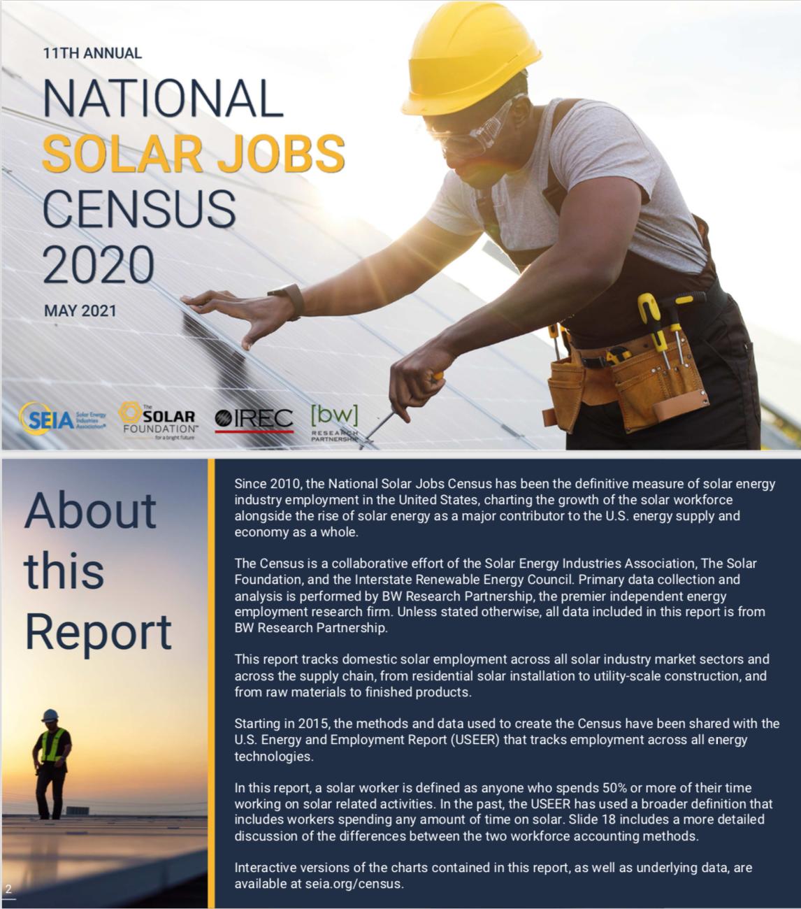 Solar Jobs Census 2020